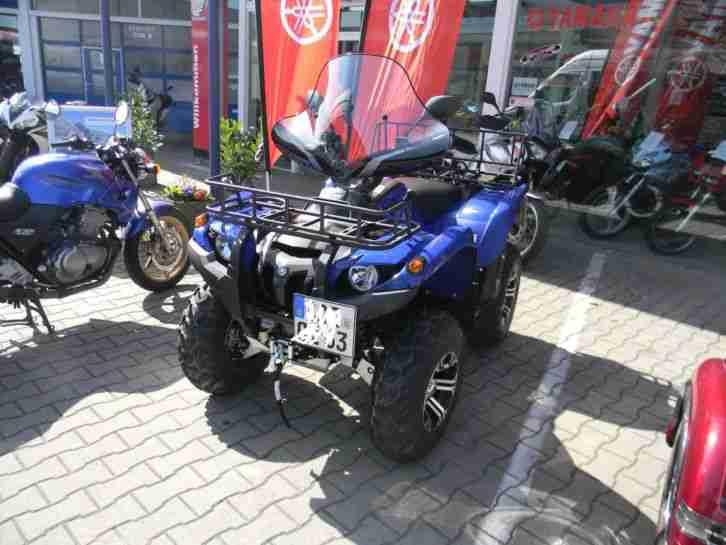 Yamaha GRIZZLY 700 EPS Seilwinde Automatic Koffer LOF NEUWERTIG 1020 Km m. MwSt