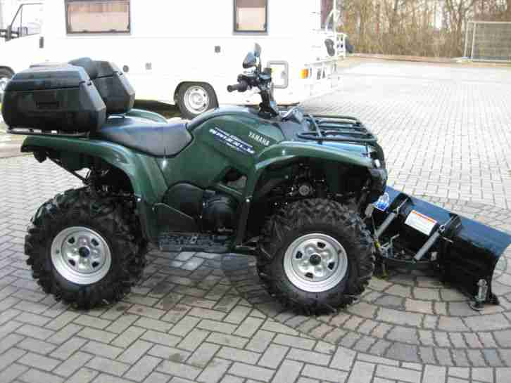 Yamaha Grizzly 700 EPS Scheckheft