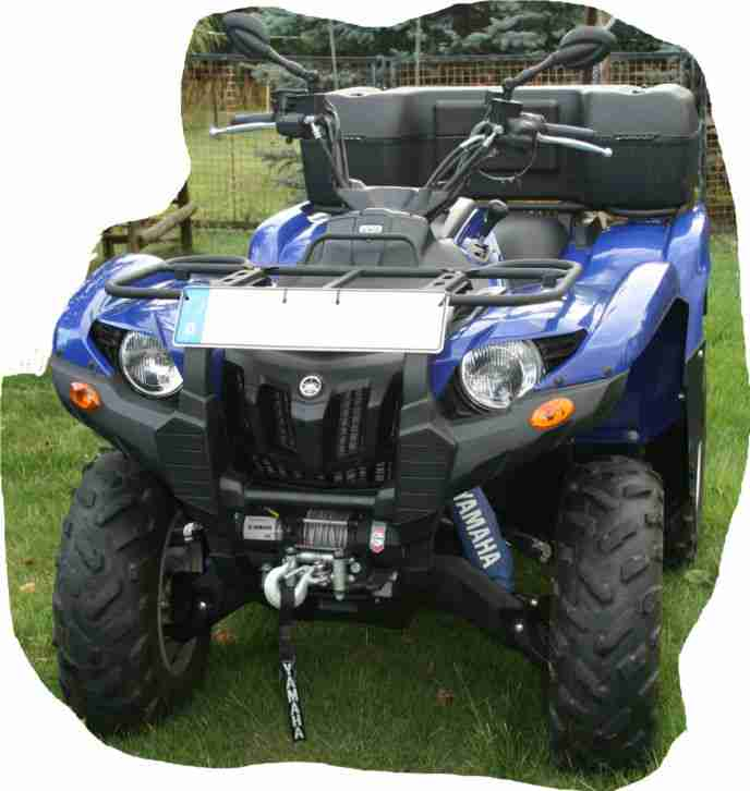 Yamaha Grizzly 700 YFM SE Special Edition