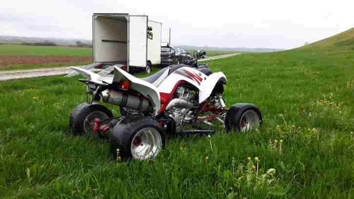 Yamaha Quad YFM 700 R Raptor Tiefer Breiter Top