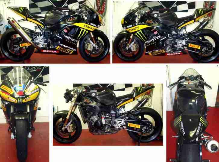 Yamaha R1 Racebike rady for Race