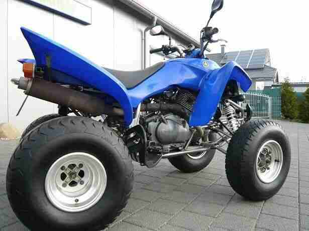 Yamaha Raptor 350 27Ps LOF (23, € Steuer) = Zum fahren reicht PKW Schein