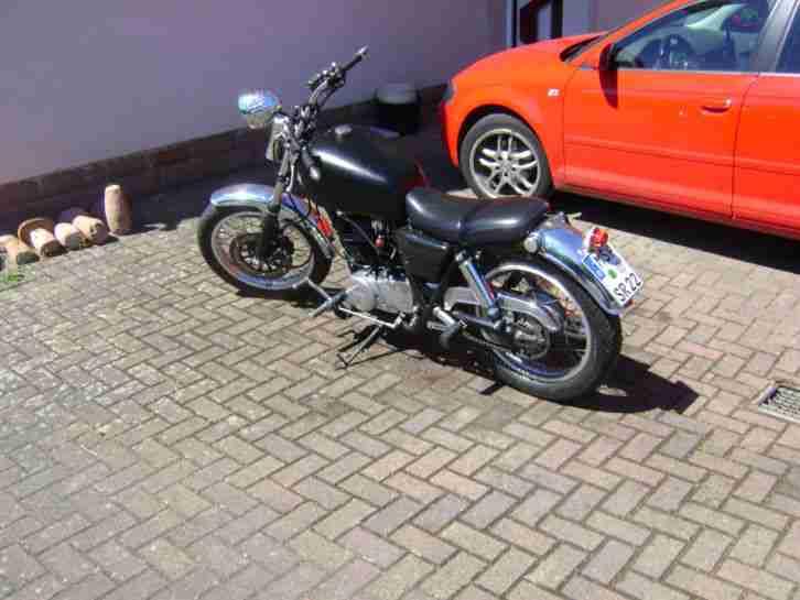 Yamaha SR 500 Cafe Racer Bobber Kult ,Oldtimermotorrad oder Wertanlage !!