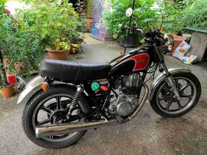 Yamaha SR 500 Oldtimer
