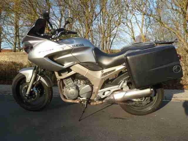 Yamaha TDM 900, EZ04 04,Hepco Becker Koffersystem, läuft gut, 92997 km,TÜV 01 20