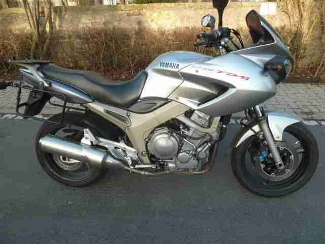 Yamaha TDM 900, EZ04 04, Hepco Becker Koffersystem, läuft gut, 92997 km,TÜV neu,