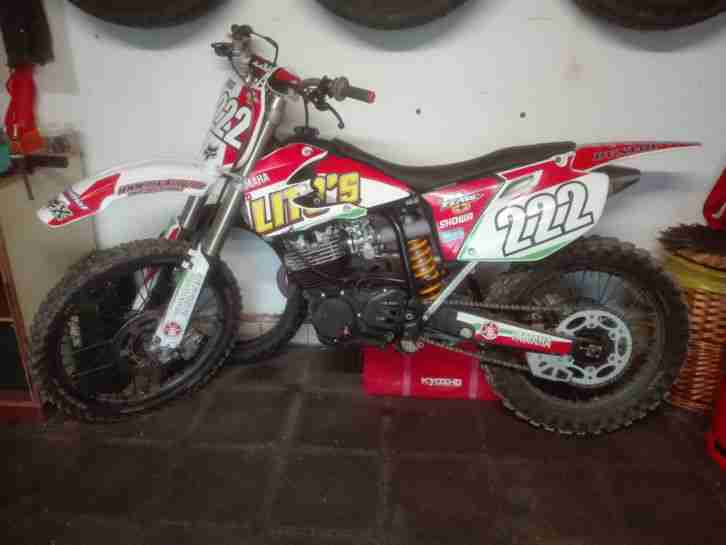 Yamaha TT 350 Fahrwerk YZ 250
