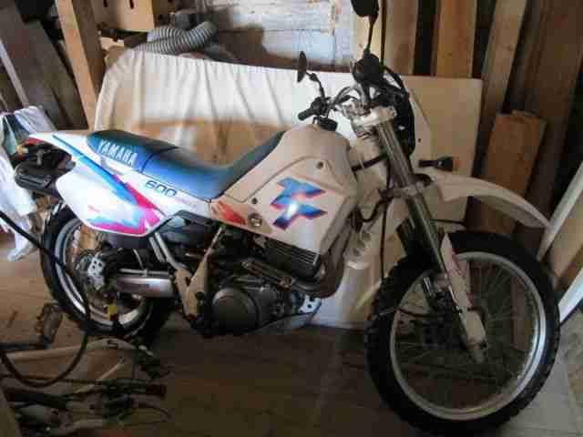 Yamaha TT 600 Belgrada, 1Hd, orig.12,2 tkm, Neuwertig, Öhlins Gabel Federbein,