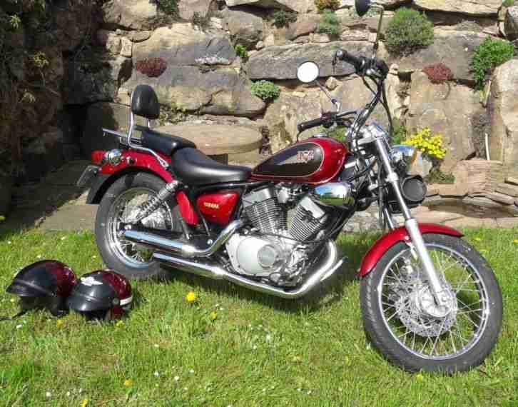 Yamaha Virago XV 125 H gepflegt, kein Rost, sehr gut erhalten