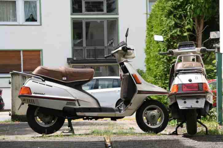 Yamaha XC 180 Cygnus, 2 Fahrzeuge