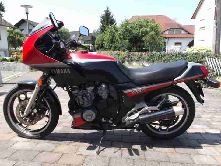 yamaha xj 600 51j defekt unfall und bastlermotorr der. Black Bedroom Furniture Sets. Home Design Ideas