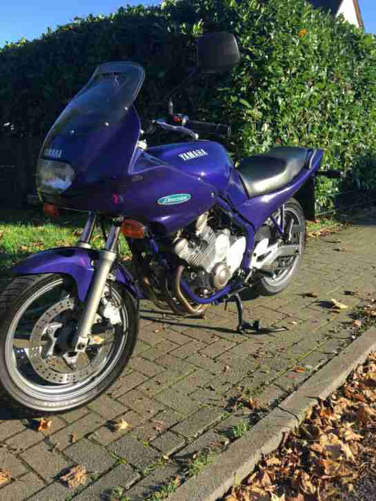Yamaha XJ 600 Diversion BJ 92, Sportauspuff m.ABE Gutachten 4 in 1