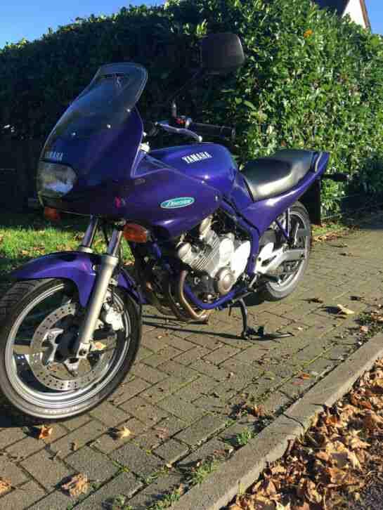 Yamaha XJ 600 Diversion BJ 92,Sportauspuff m.ABE Gutachten 4 in 1