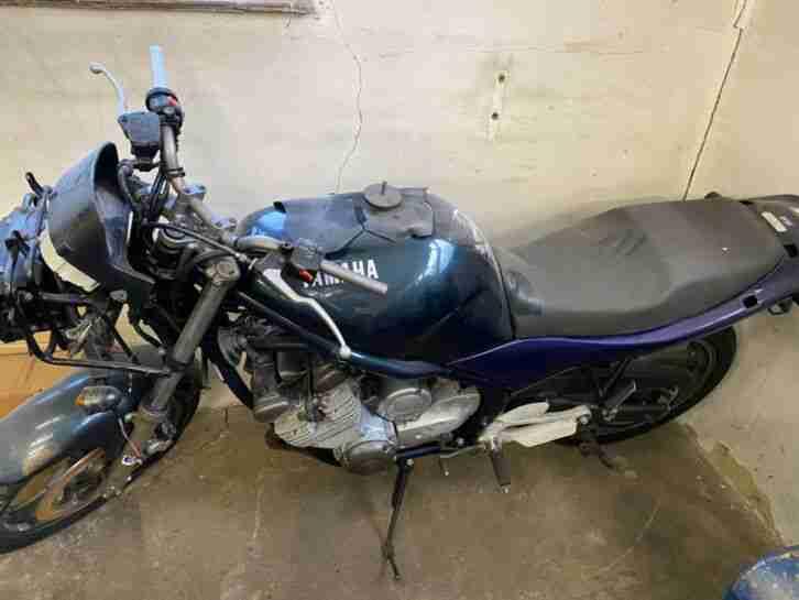 Yamaha XJ 600 Diversion S BASTLERFAHRZEUG