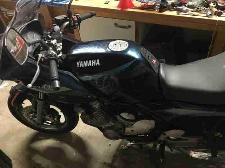 Yamaha XJ 600 S Diversion Mit Koffer