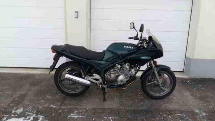 Yamaha XJ 600 S Typ 4BRA mit Schlüssel u Brief - Bestes