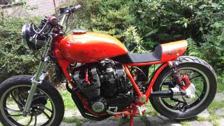XJ 650 Custom Red Dragon