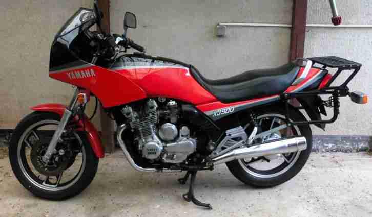 Yamaha XJ 900 Typ 58L in 2 Monaten ein Oldtimer - Bestes