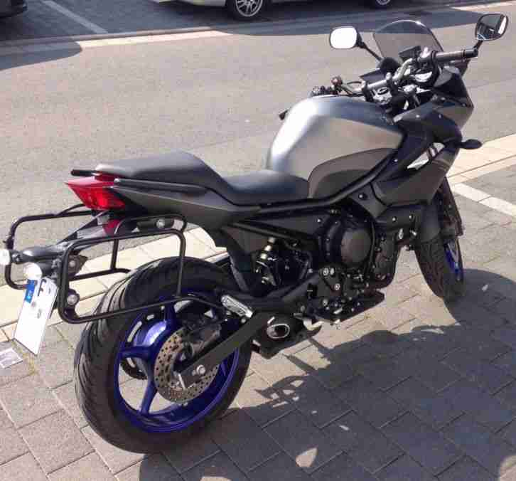 Yamaha XJ6 Diversion ABS mit Seitenkoffern, Alarmanlage uvm.