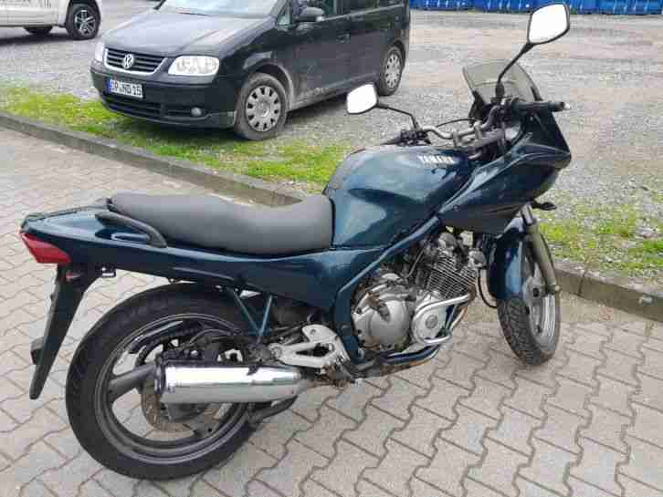 XJ600 Diversion Grün 32747 km 45 kw