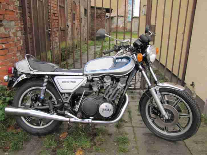Yamaha XS 750 1T5 EZ 1978 3 Zylinder Kardan, Motor überholt !!(650 400 SR 500)