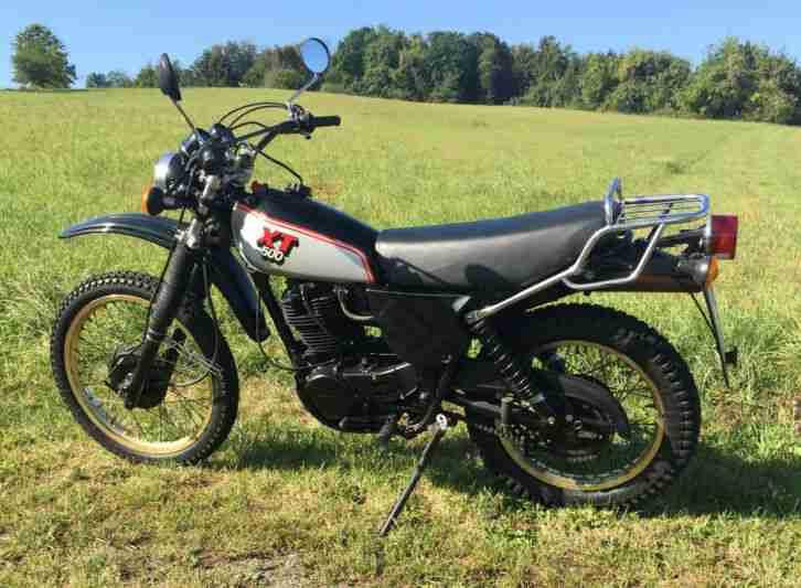 Yamaha XT 500 (nicht 100%ig sicher) - Bestes Angebot von Yamaha.