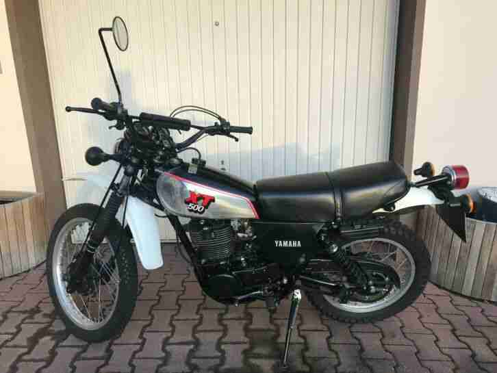 Kultmoped Yamaha XT 500 1U6 mit Alutank,Baujahr - Bestes Angebot von Yamaha.