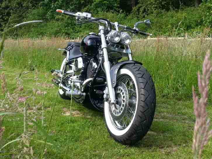 yamaha xvs 650 drag star chopper custom bike bestes. Black Bedroom Furniture Sets. Home Design Ideas