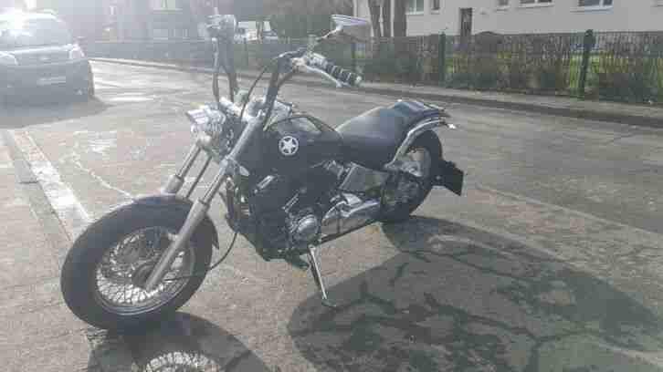 Yamaha XVS 650 Dragstar Classic Bobber Custom Umbau