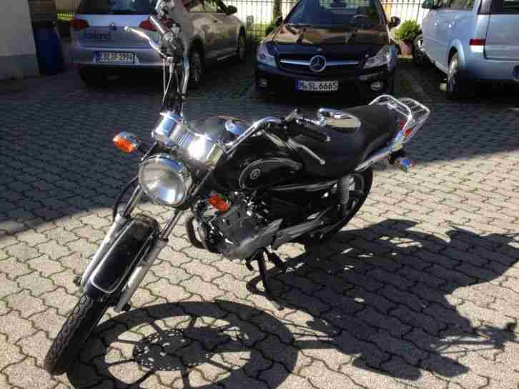 Yamaha YBR 125 Custom Unfallschaden, fahrbereit, TÜV 10 2017