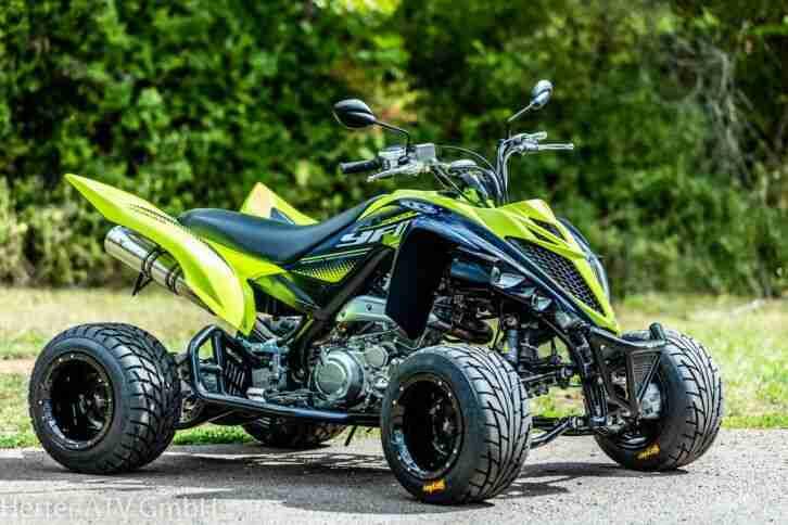Yamaha YFM 700R Limited Edition, Modell 2020, Supermoto Umbau, Fahrfertig, ToP