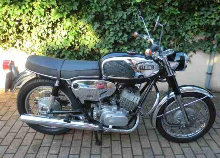 Yamaha YR 1 350 cc, Bj 1967 Sammlerobjekt