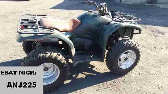 Yamaha grizzly 400 bestes angebot von quads for Yamaha grizzly 400