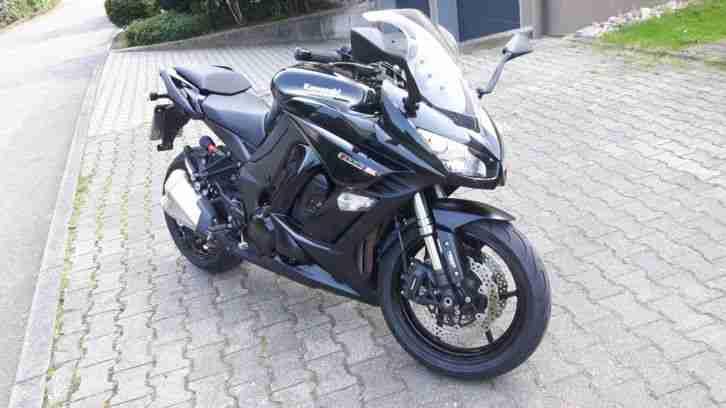 Z1000SX schwarz, aus fast 1. Hand