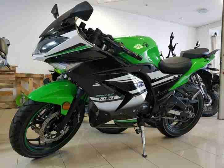 ZIPP PRO XT 125 SPORT BIKE 125 ccm MOTORRAD 3 FARBEN EURO 4 NEUFAHRZEUG