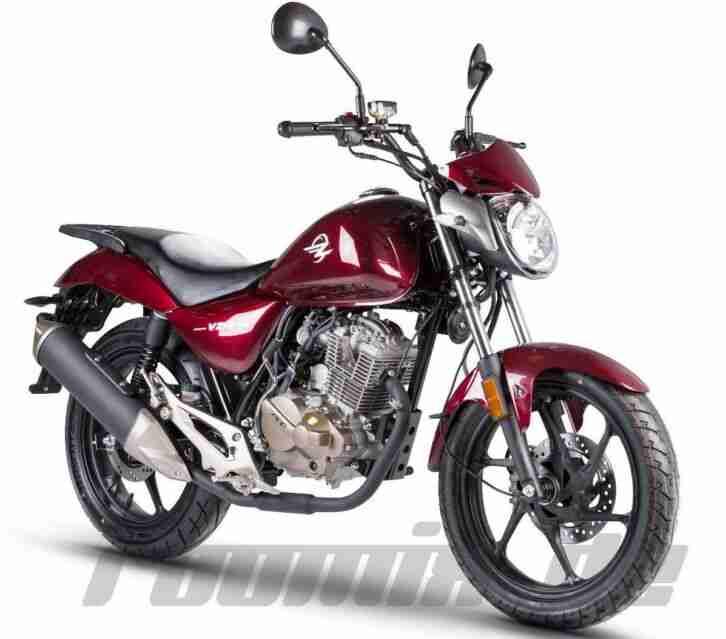 zipp vz 1 pro 125 cruiser bike 125 ccm motorrad bestes. Black Bedroom Furniture Sets. Home Design Ideas