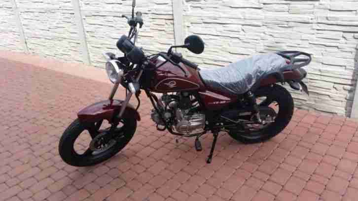 zipp vz 50 cruiser bike 50ccm 4 takt motorrad bestes. Black Bedroom Furniture Sets. Home Design Ideas