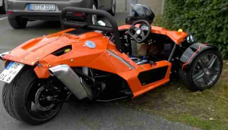 ztr roadster trike 690 ccm ktm motor monoposto bestes angebot von quads. Black Bedroom Furniture Sets. Home Design Ideas