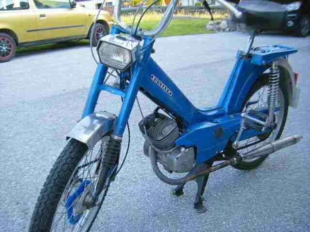 ZÜNDAPP Moped 442 Automatik Oldtimer in Blau aus dem Nachlass von Opa