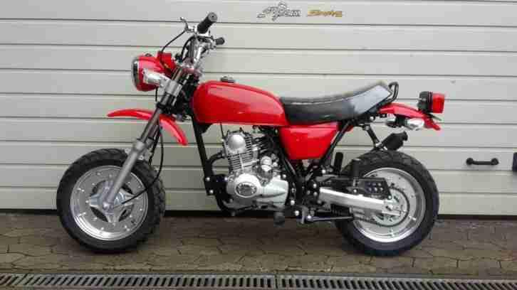 Zhenhua Ape 50cc Roller Mokick kein Mofa 50cc mit Straßenzulassung