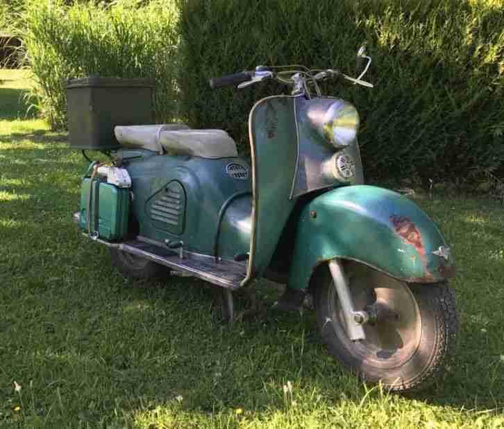 Zündapp Bella R200 Bj.1954 Patina vintage look Technik überholt
