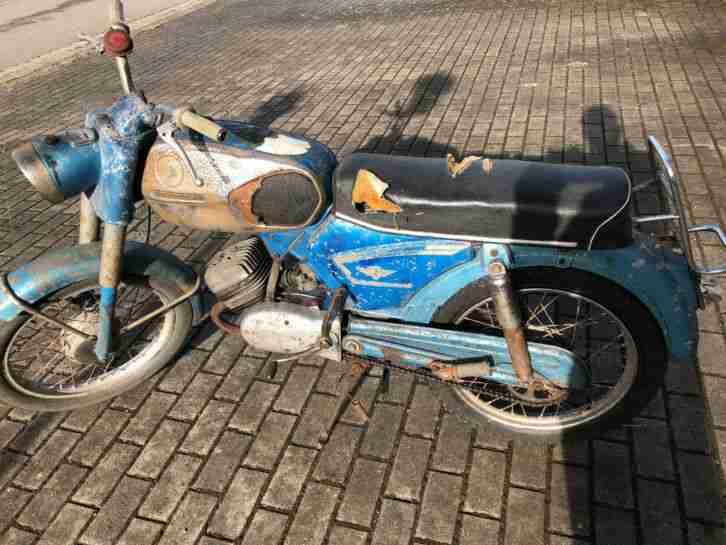 Zündapp C 50 517 Original Patina Vintage