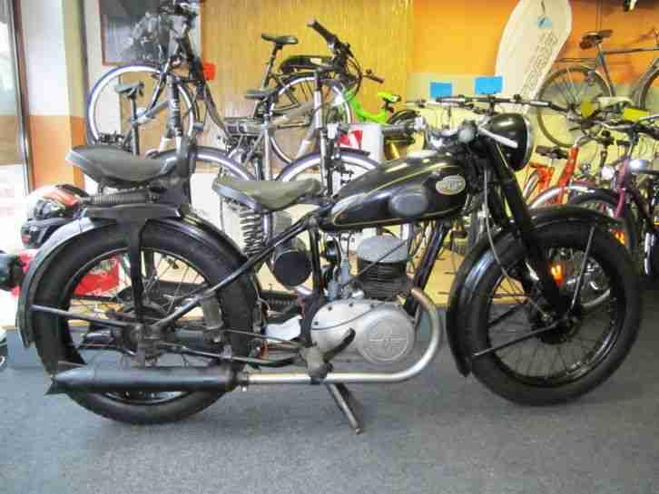 Zündapp DB 201 oldtimer motorrad Bj 1951 - Bestes Angebot