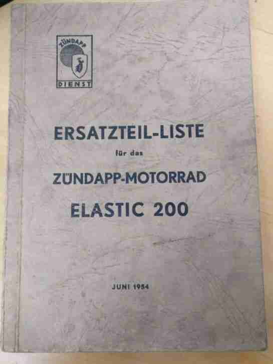 Zündapp Elastic 200