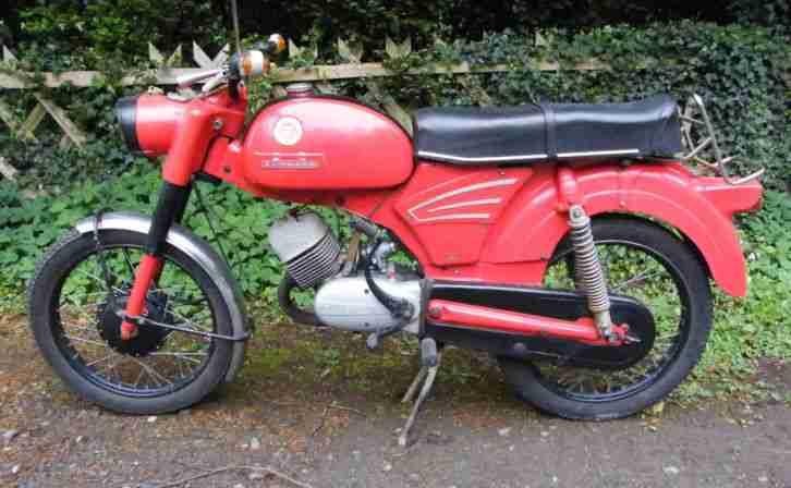 Zündapp KS 100,100ccm,Motorrad