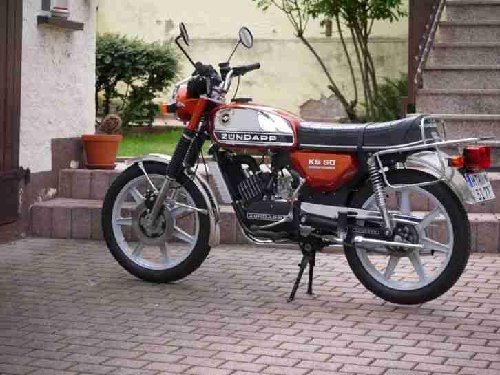 Zündapp KS 50 watercooled Baujahr 1977 Typ 530 01