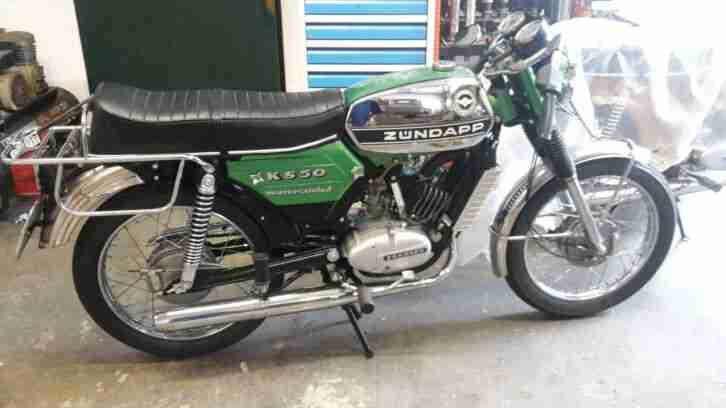 Zündapp KS50 Watercooled 517 52 1976