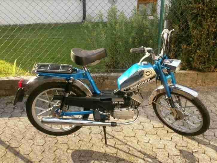 Zündapp Mofa 2 Gang ZR 20 Vintage Oldtimer