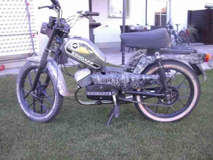Zündapp Mofa ZS 25 Bj. 11 74 restauriert und fahrbereit!