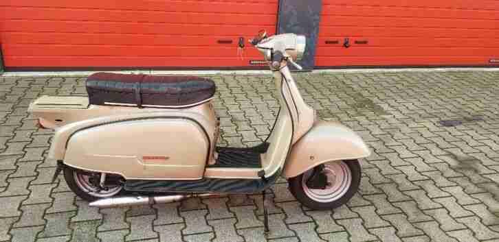 Zündapp R 50 Roller über 50 Jahre alt